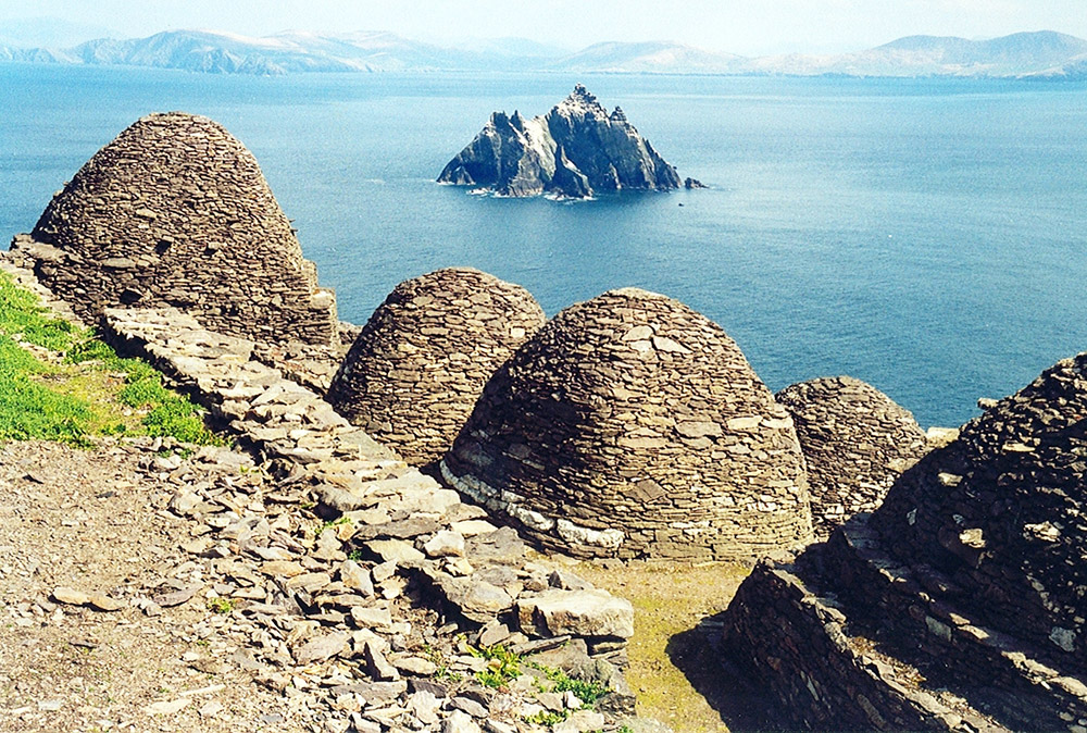 Skellig Michael, beehive cells and Small Skellig